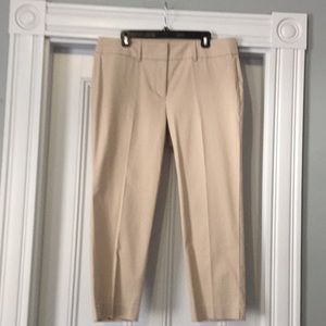 NWT Ann Taylor Factory cropped pants
